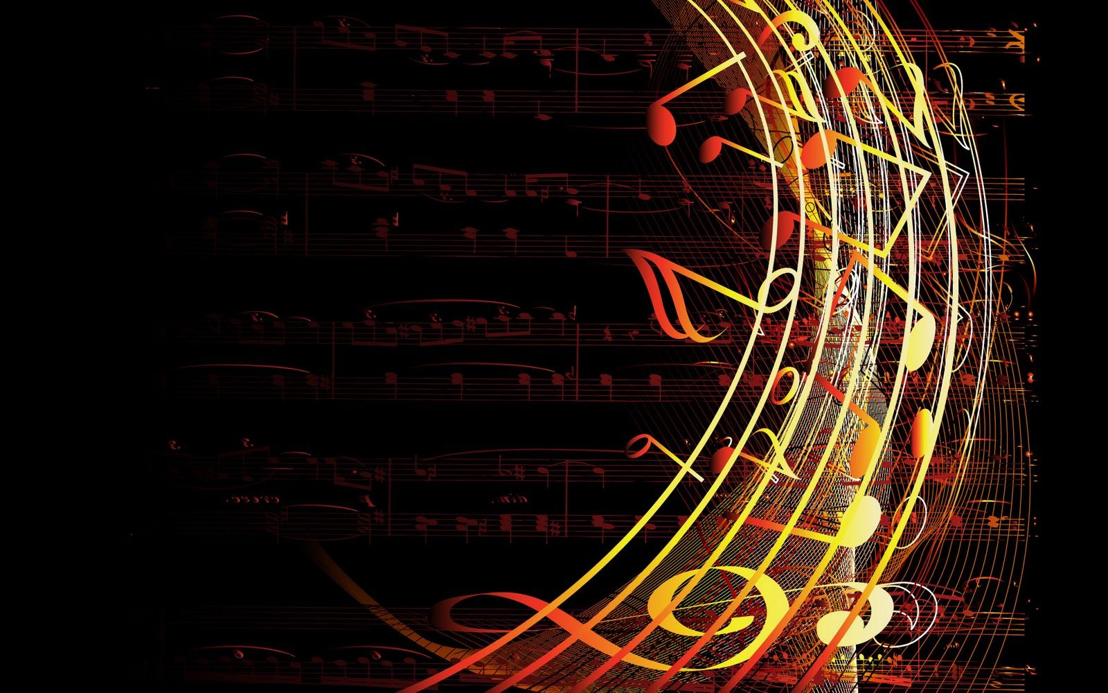 Music Notes Wallpaper Background Perfect Archived in Music