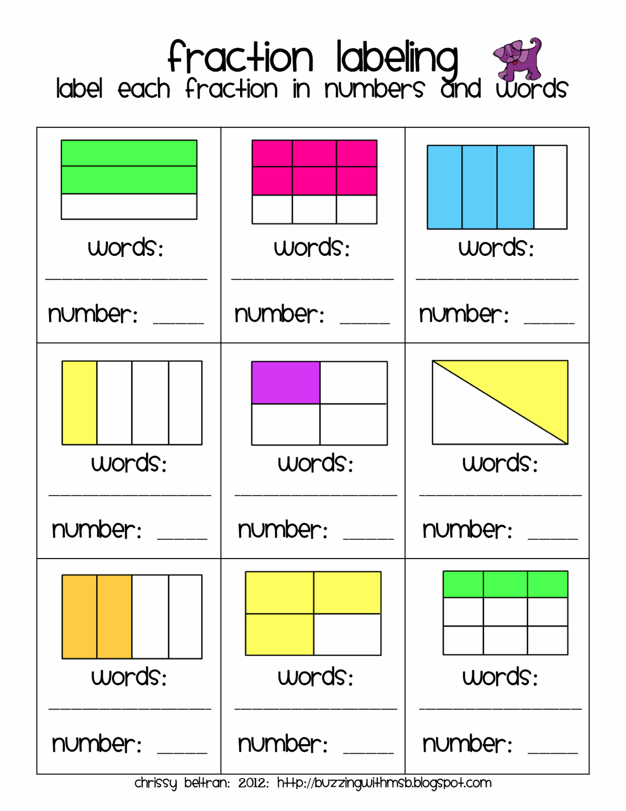 Dun Dun Dunnnn Fractions Freebie With Images
