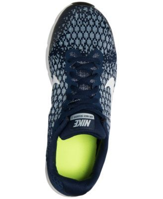 90119babea2 Nike Boys  Air Max Sequent 2 Running Sneakers from Finish Line - Blue 6