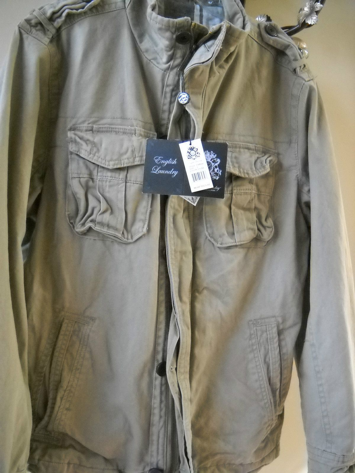 75 00 English Laundry Blaque Label Christopher Wicks Military