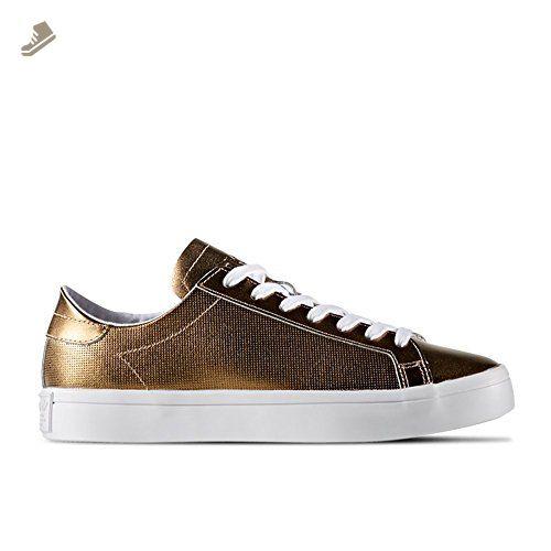 Adidas courtvantage bb5201 Color: blanco tamaño: oro