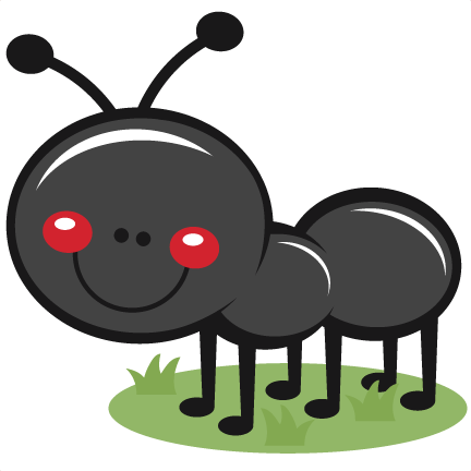ant in grass svg scrapbook cut file cute clipart files for rh pinterest co uk ant clipart black and white ant clip art images