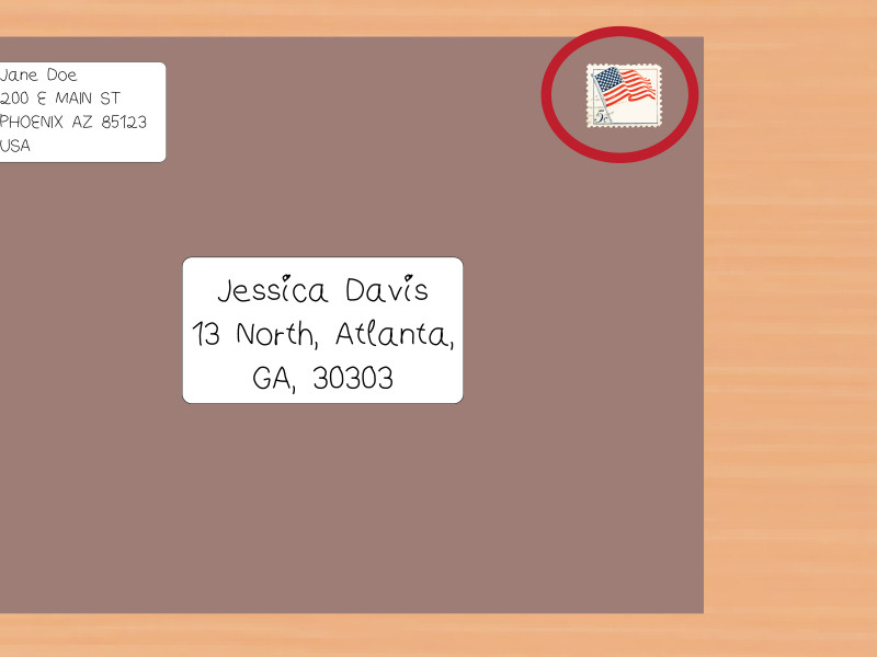 Package Address Label Template New How to Address Clasp