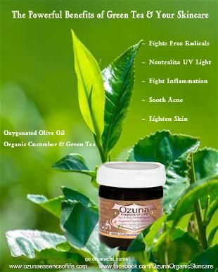The Powerful Benefits Of Green Tea And Your Skincare Green Tea Benefits Skin Care Organic Skin Care
