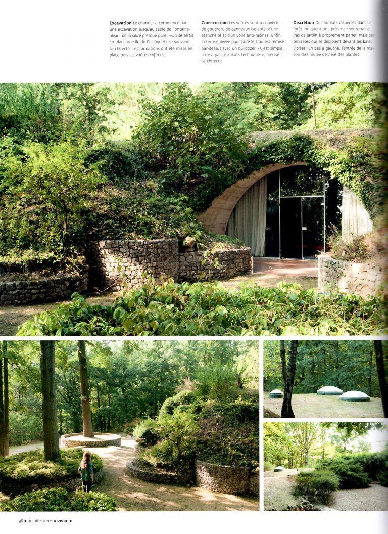 La Maison Au Dessus Des Voiles découvrez la maison enterrée de etienne fromanger près de