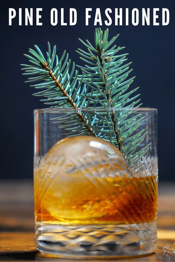 Photo of Pine Old Fashioned – Bourbon Old Fashioned | Gastronom Cocktails