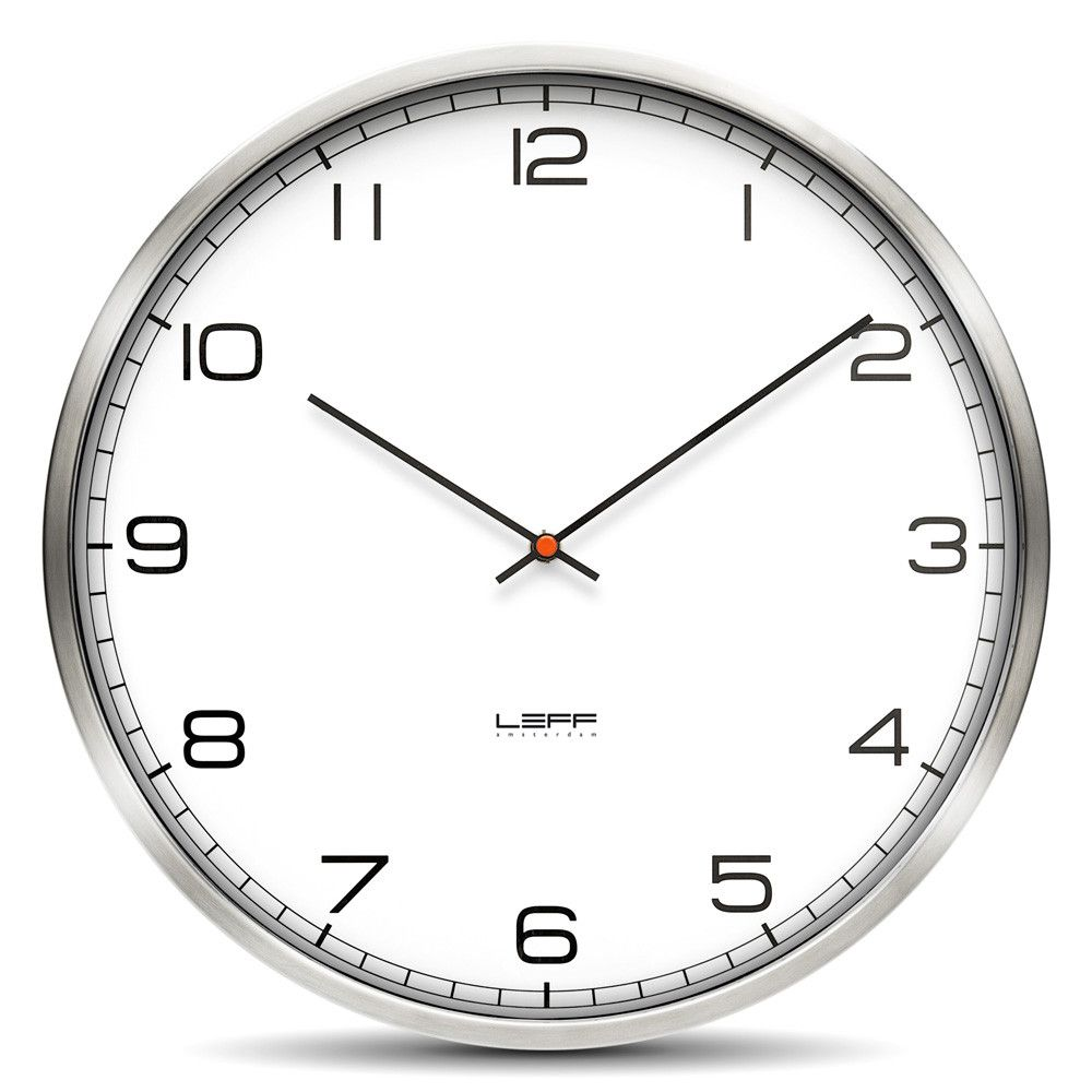 Discover the leff amsterdam one arabic dial wall clock white discover the leff amsterdam one arabic dial wall clock white 45cm at amara contemporary clocksmodern contemporarymodern clocklarge amipublicfo Image collections