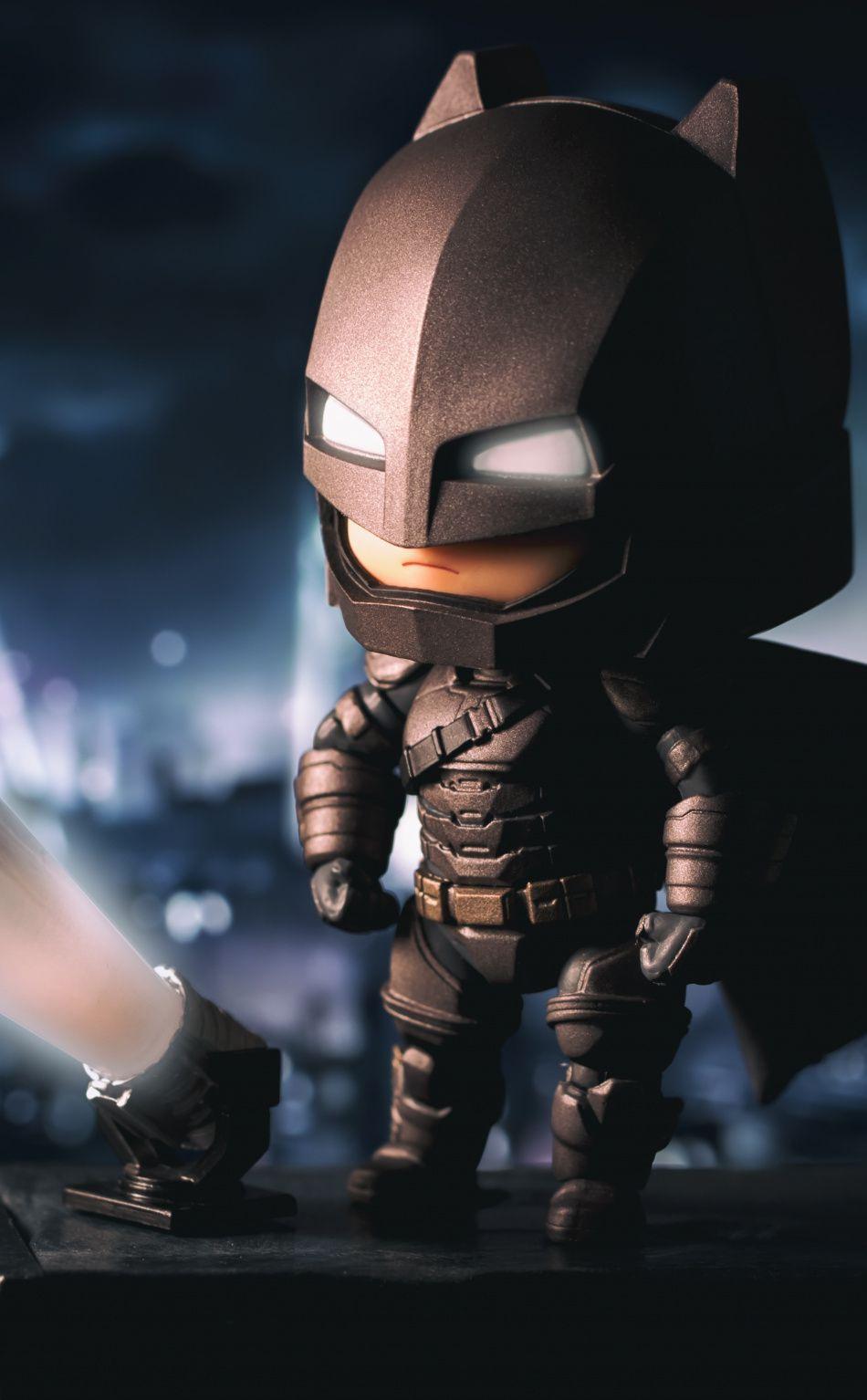 Official Dc Chibi Characters The Dark Knight Displate Artwork By Artist Dc Comics Part Of A Set Featuring De Batman Cartoon Baby Batman Batman And Catwoman