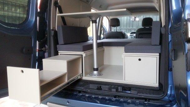 Modulo camper renault grand kangoo cocina extraible - Muebles para camperizar furgonetas ...