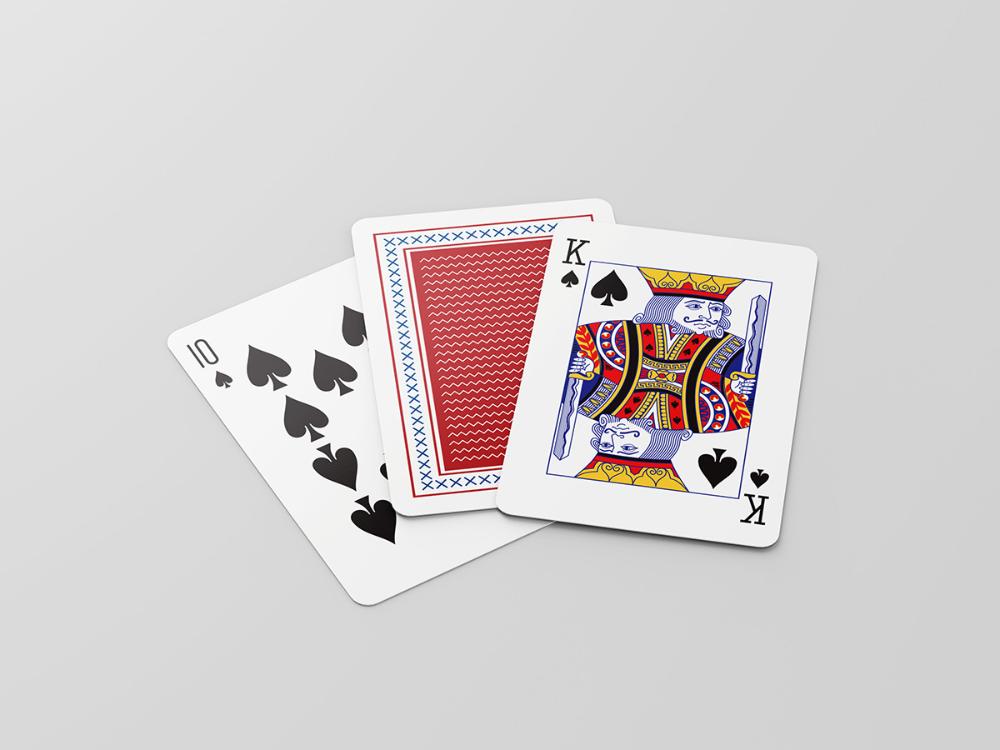 Free Playing Cards Mockup Mockups Design Mockup Design Playing Cards Cards