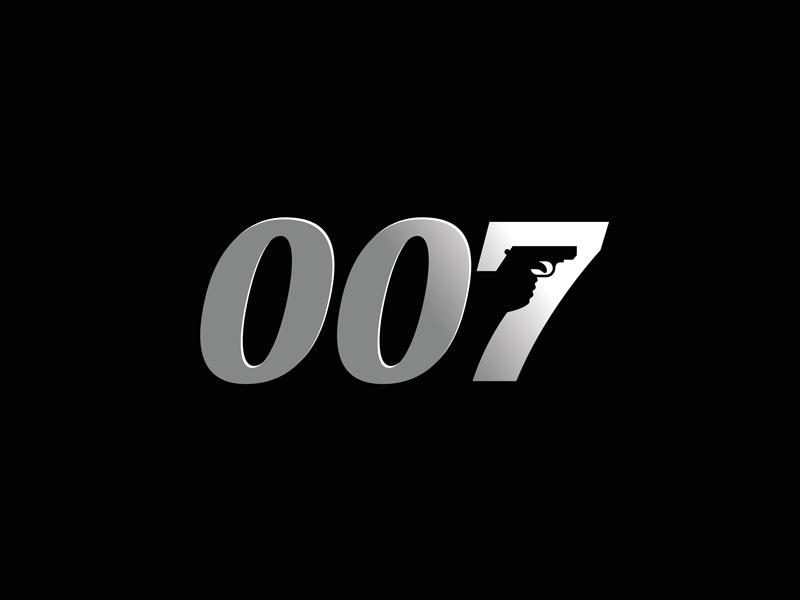 007 Minimalist Logo Design Minimalist Logo James Bond Movies
