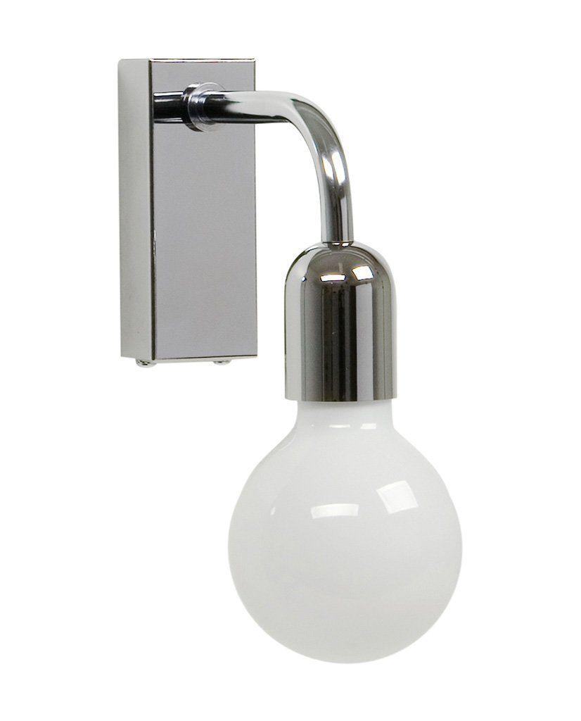Belid Regal Vegglampe Singel Matt Sort | Designbelysning.no
