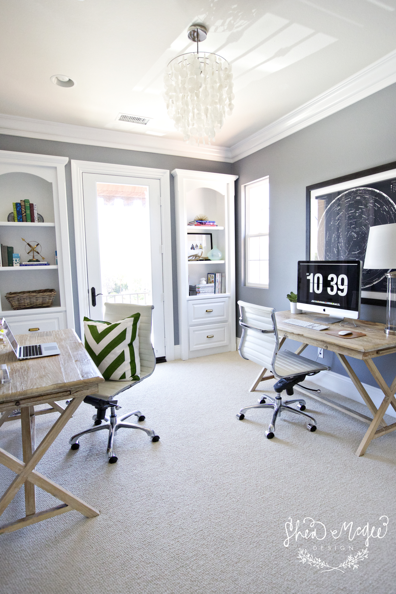 Shared Home Office    Shea McGee Design   Offices   Pinterest ...