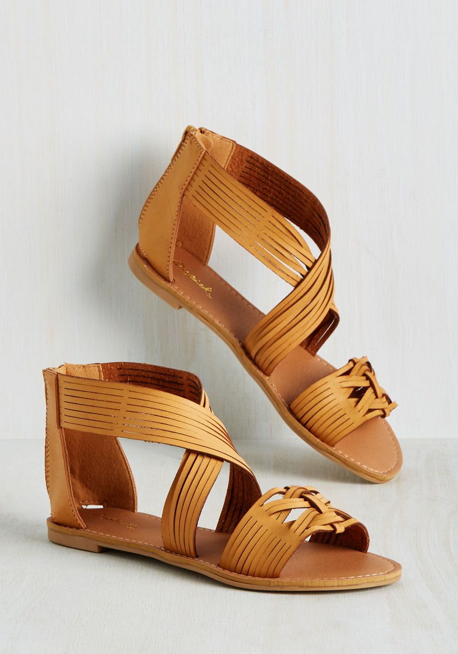 3862552adb26 As Good As Dune Sandal. These strappy sandals may not be dancing along the  shoreline just yet