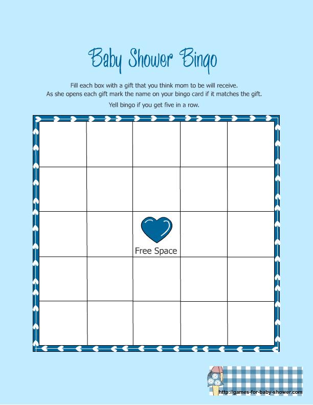 Printable Baby Bingo Blank Printable Baby Shower Bingo Cards Blank Baby Shower Bingo Free Printable Baby Shower Gift Bingo Baby Shower Bingo Printable