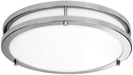 Lb72165 Led Flush Mount Ceiling Light 16 Inch 23w 200w Equivalent Dimmable 1610lm 5000k Day In 2020 Flush Mount Ceiling Lights Led Flush Mount Flush Mount Ceiling