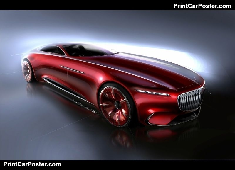 Mercedes-Benz Vision Maybach 6 Concept 2016 poster, #poster, #mousepad