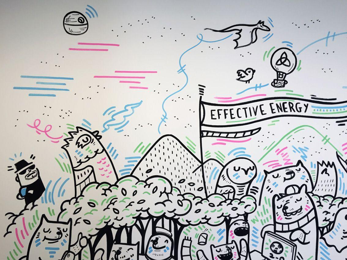Effective Energy Office Murals on Behance