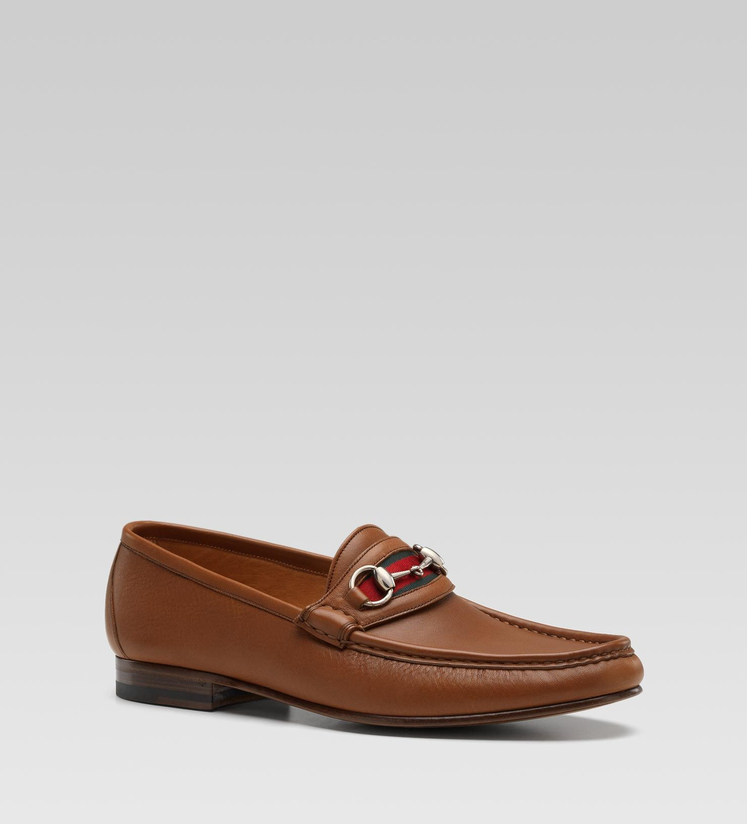862ea96779 Gucci Moccasin with Horsbit and Signature Web
