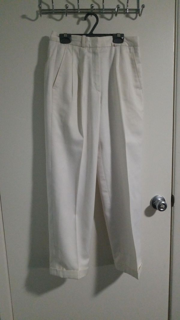 Women's white slacks size 2 #whiteslacks Women's white slacks size 2 #whiteslacks Women's white slacks size 2 #whiteslacks Women's white slacks size 2 #whiteslacks