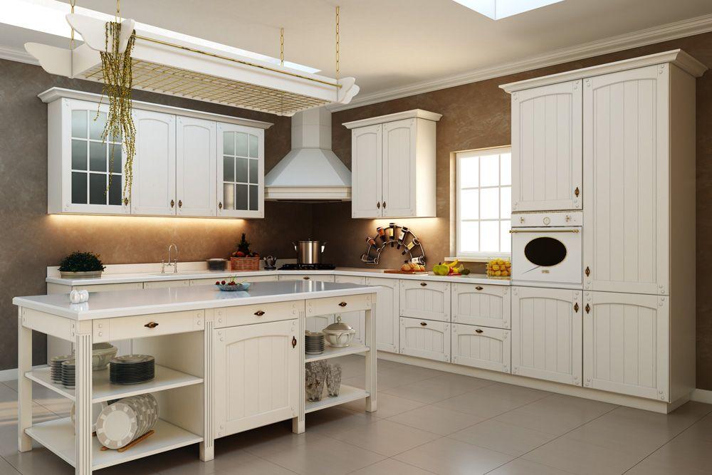 Cocina con una barra de separacion | Ideas para el hogar | Pinterest ...