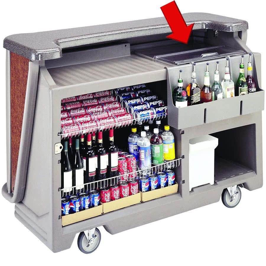 Cambro 14510 Ice Sink Cover For Cambro Bar650 And Bar730 Cambars Portable Bar Portable Outdoor Bar Portable Home Bar