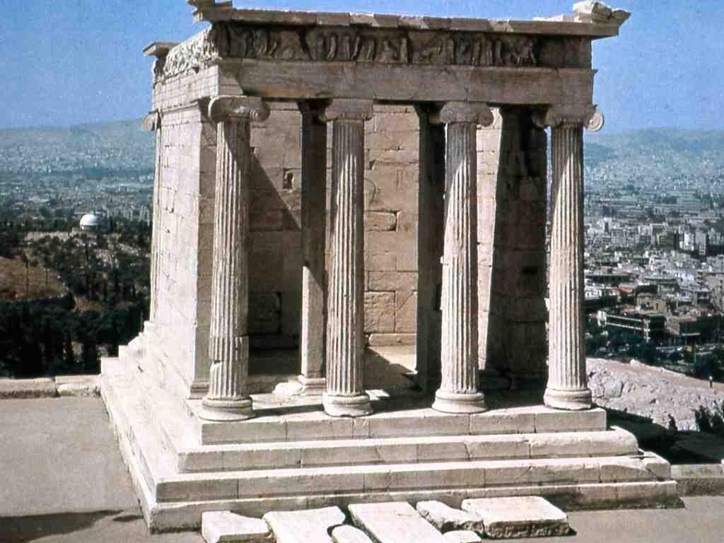 The Temple Of The Athena Nike Temples Pinterest