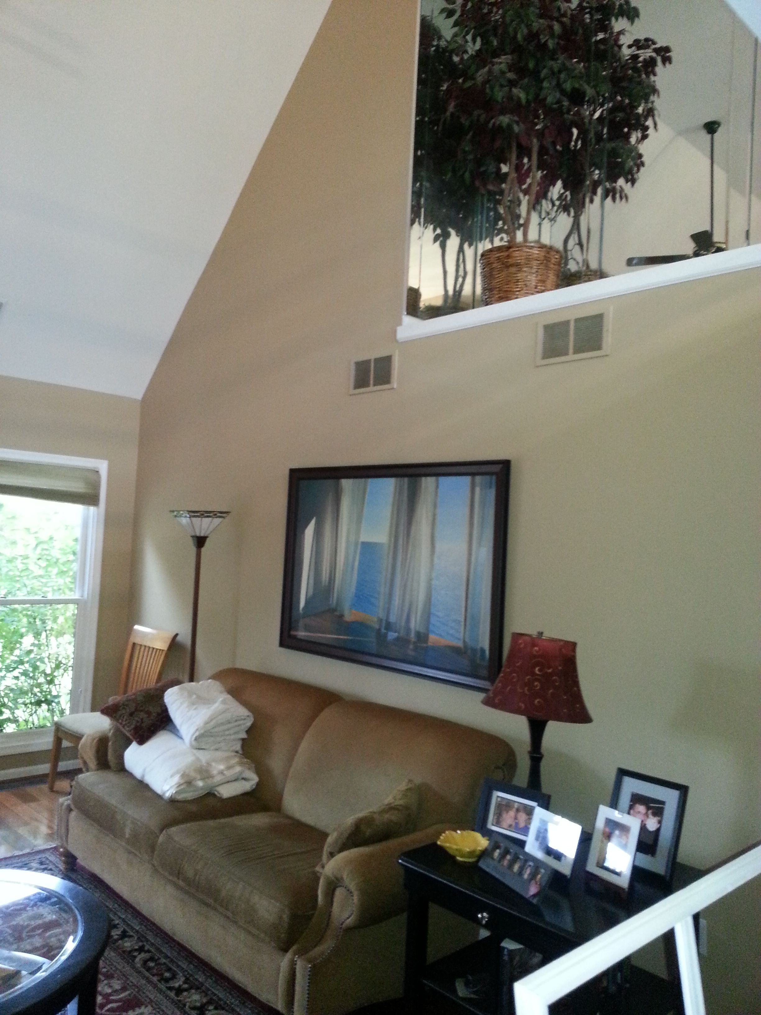 #Painting for a homeowner earlier this year. John (610) 428-2751