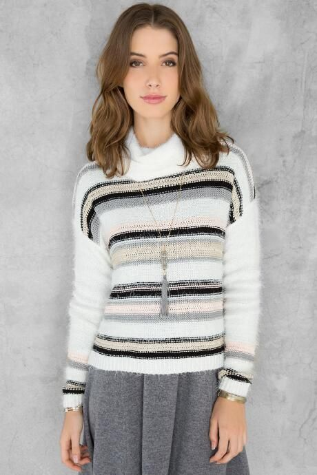 Madison Striped Sweater $9.98                      $44.00
