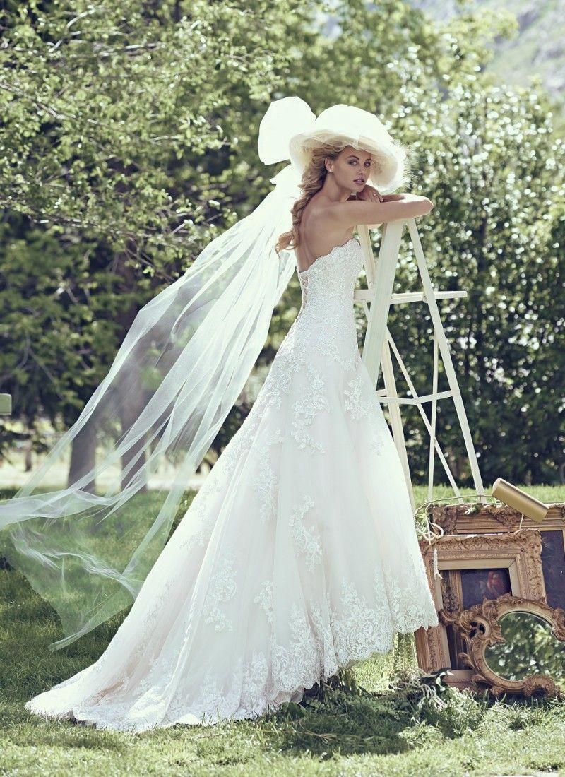 Maggie Sottero wedding dress Laverna from Morgan Davies Bridal ...