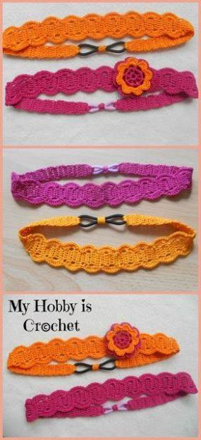 Thread Headband - Free Crochet Pattern with Tutorial | Crochet ...