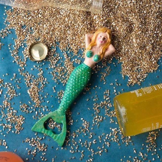 Imelda The Mermaid Bottle Opener Bottle Opener Bottle Cast Iron