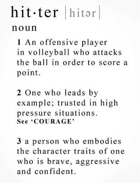 how to become a better middle hitter in volleyball
