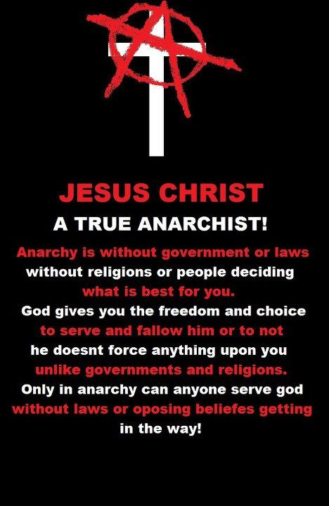 No King But Christ Christian Anarchy Anarchy Pinterest