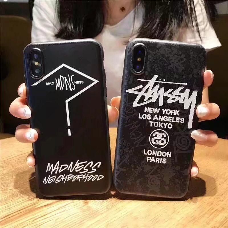 57e581d77d iPhoneXケース8PLUS/7/6s携帯カバーかっこいいステューシー男女アイフォンxお揃いX