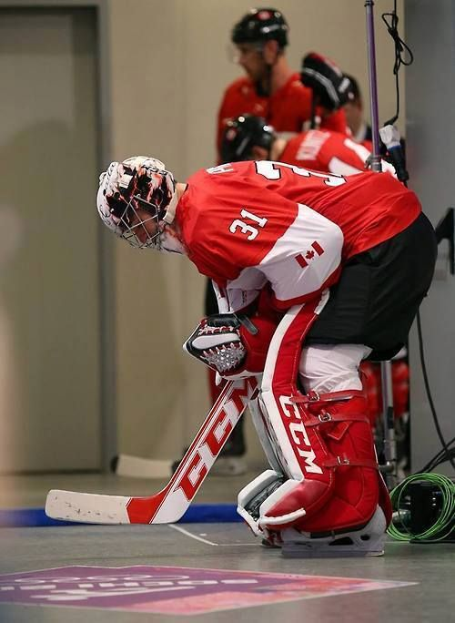 new product 1c21d 21b1f Carey Price before the Final Olympic game. | Oh Canada, true ...