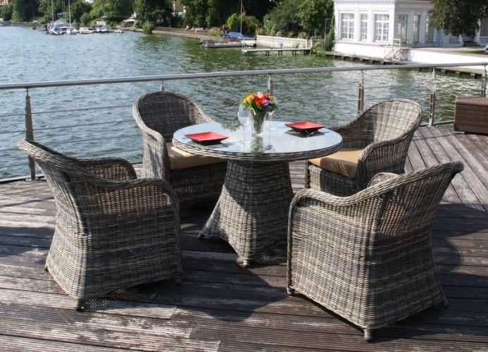 Tolle gartenmöbel polyrattan runder tisch Deutsche Deko Pinterest - gartenmobel polyrattan eckbank