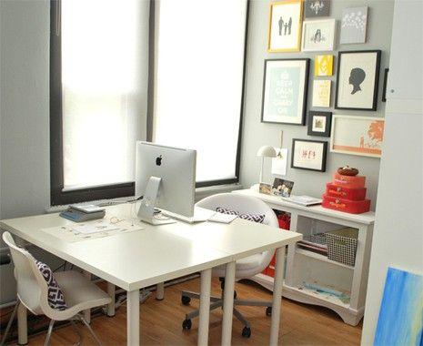 Home Office For Two How To Make The Space Work Picture Frame