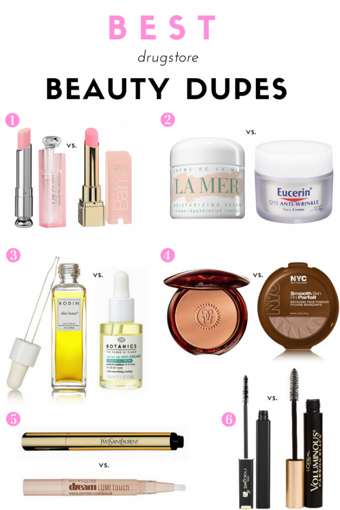 The Best Drugstore Beauty Dupes Drugstore beauty dupes