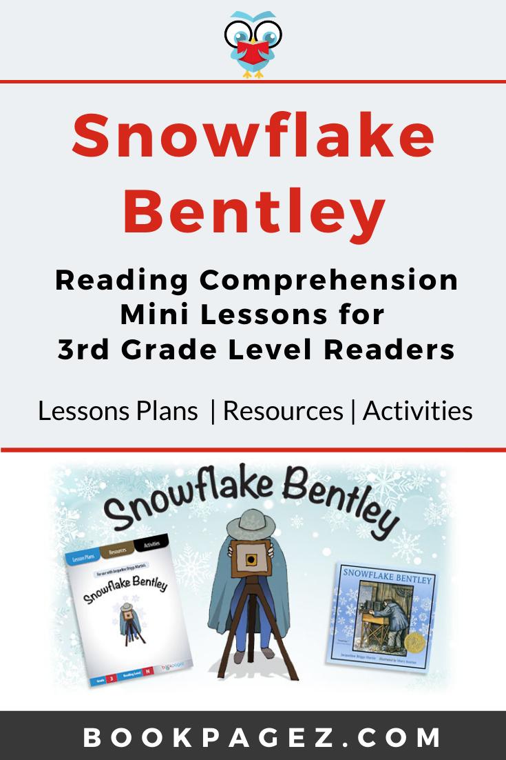 Snowflake Bentley Bookpagez Reading Comprehension Reading Comprehension Strategies Comprehension Strategies [ 1102 x 735 Pixel ]