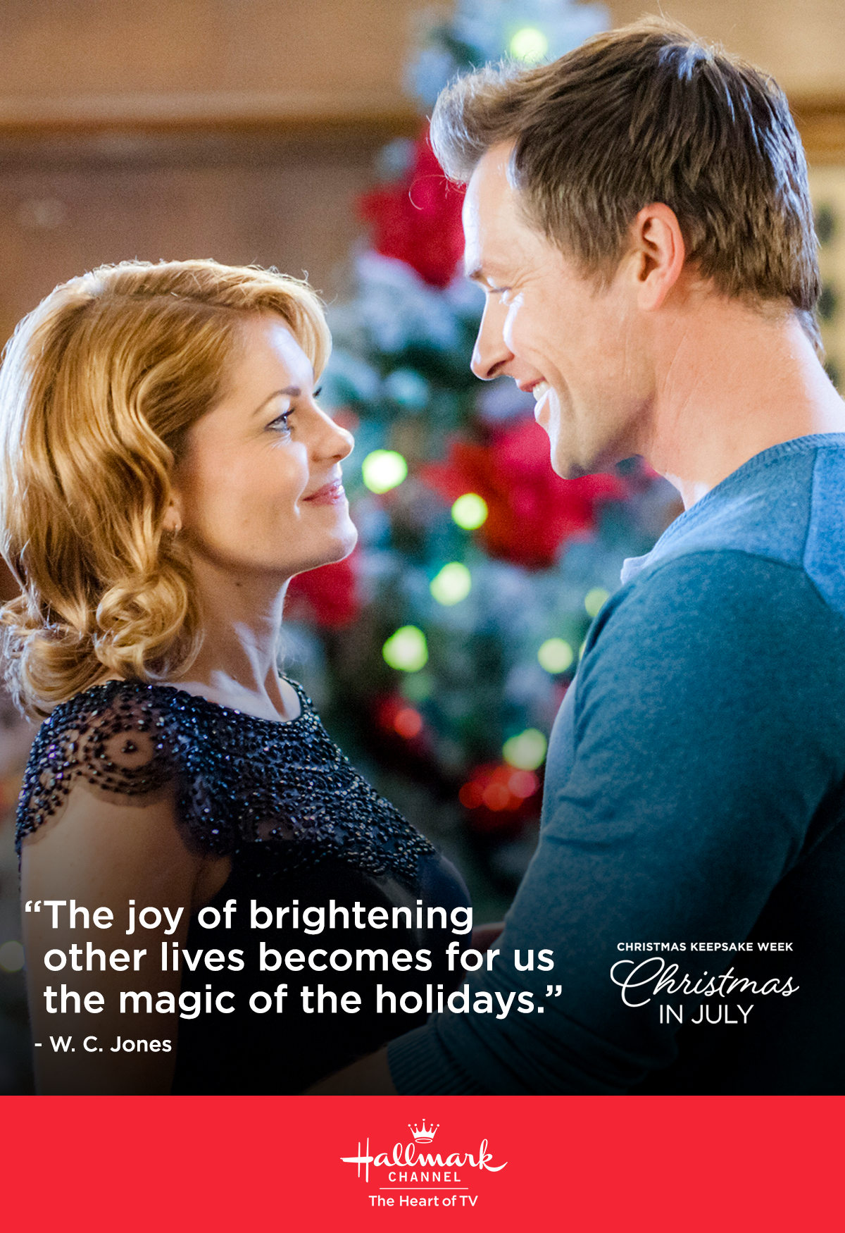 Christmas In July Hallmark.Celebrate Christmas In July On Hallmark Channel With Holiday