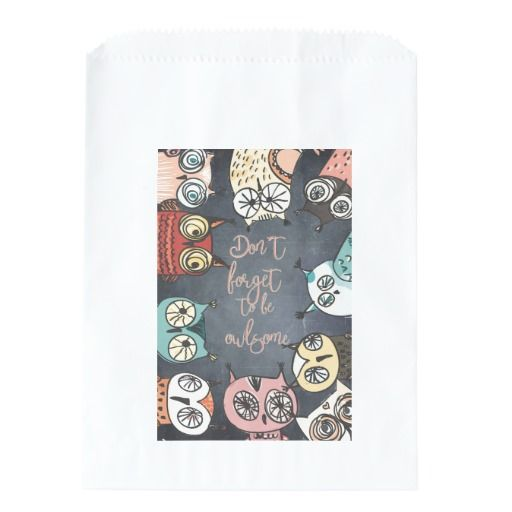 Don´t forget to be owlsome #favorbags