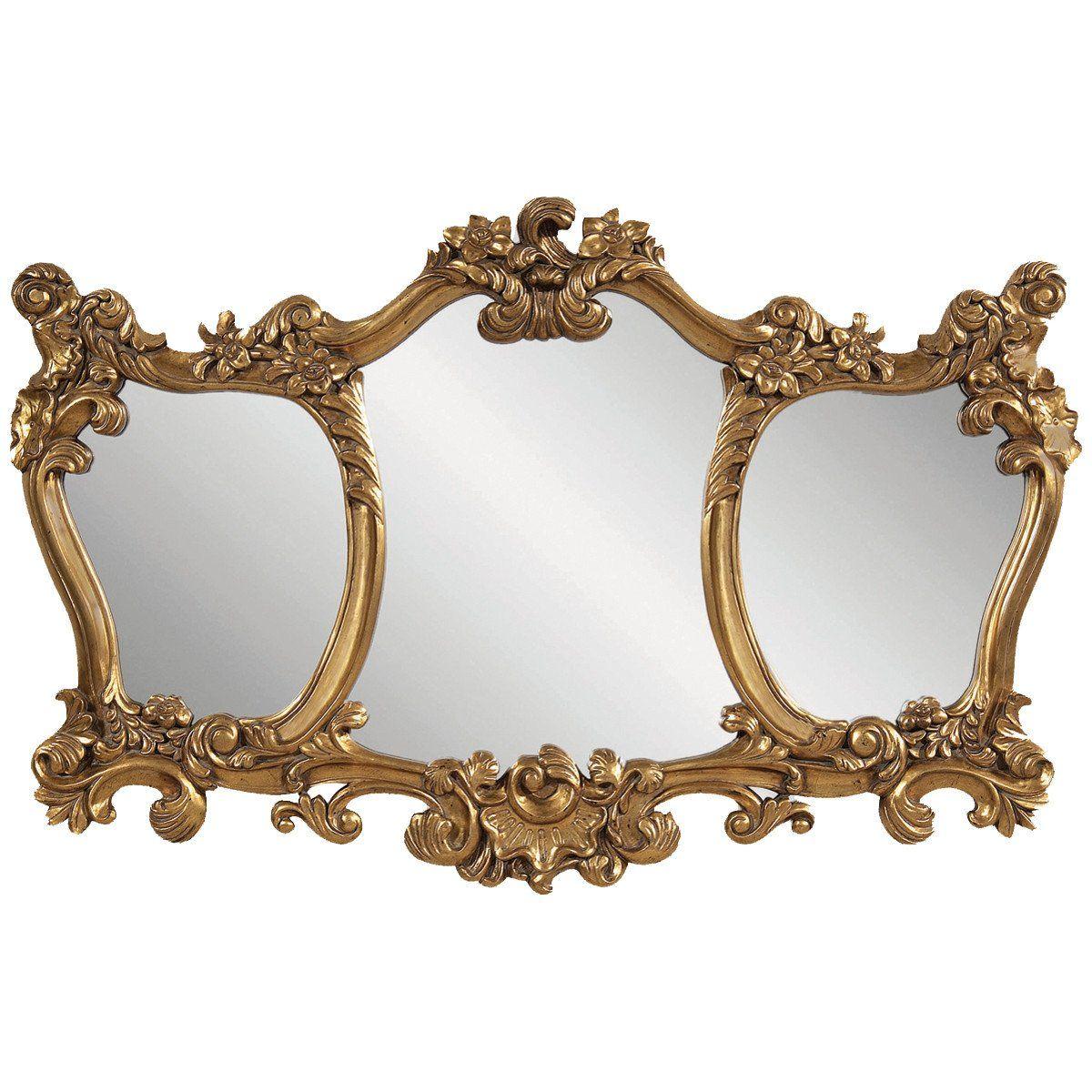 Bassett Mirror Old World Donatella Wall Mirror Mirror