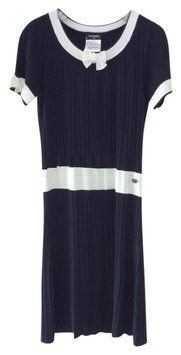 6b1e38ca8294 Chanel 14 Ss Collection Knit With Bow Details Size 34 Brand New Dress $1,010