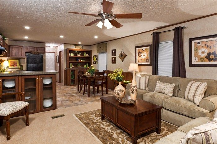 The payton fac16723b small hom id a 39 s mobile home - How to decorate a mobile home living room ...