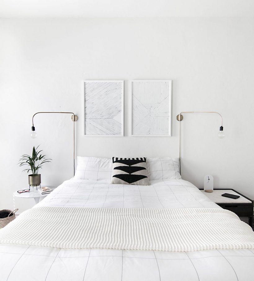 How to achieve a minimal scandinavian bedroom bedroom decor for Bett scandinavian design