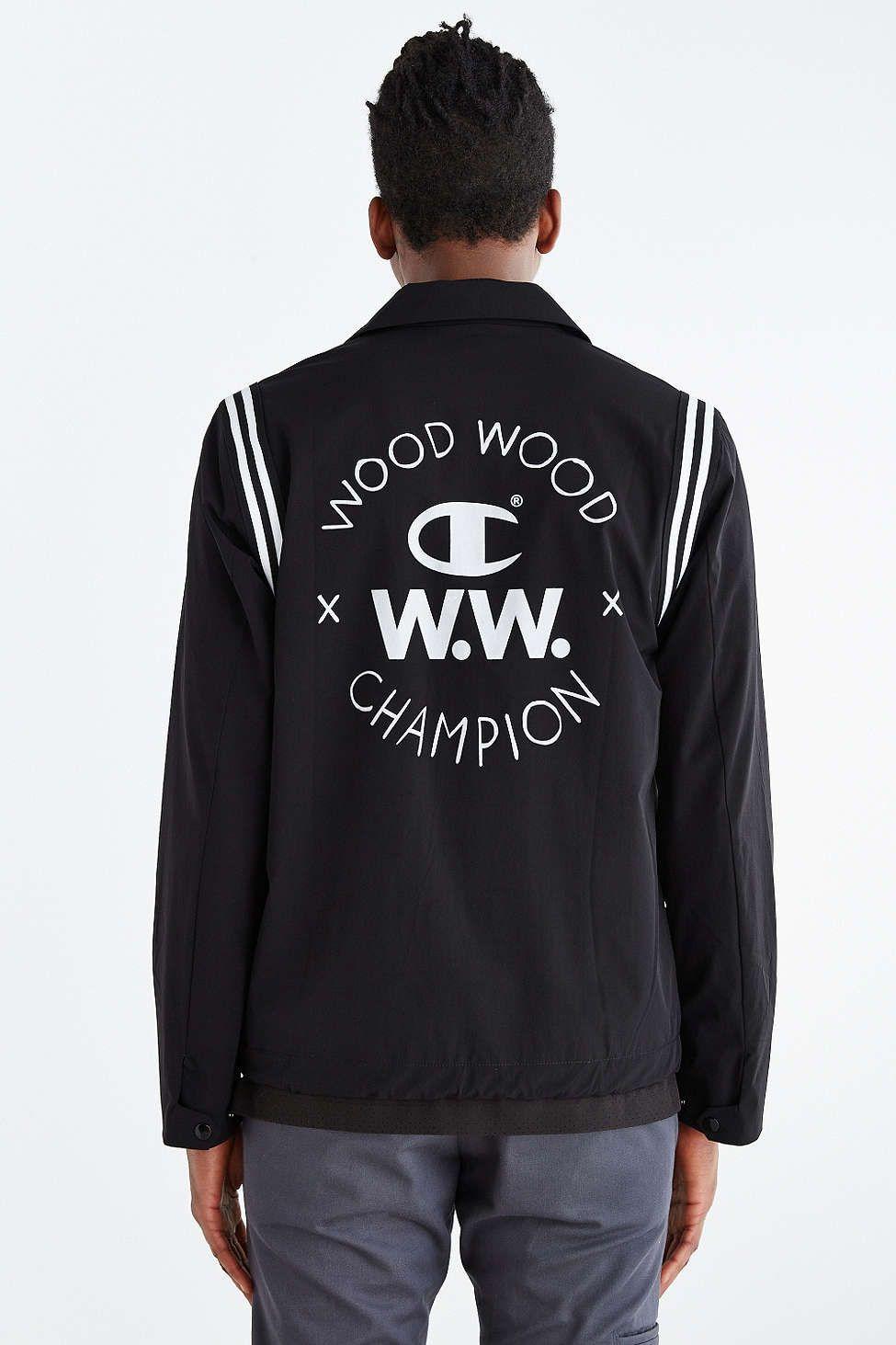 Champion X Wood Wood Coach Jacket   Påklædning   Jackets, Urban ... 103954770e