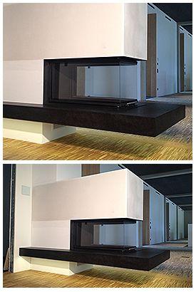 Schwebender Kamin schwebender kamin com design in hochform was ihn so besonders