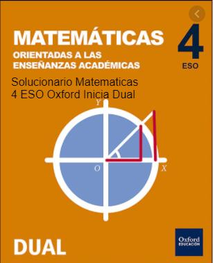Solucionario Matematicas 4 Eso Oxford Inicia Dual Pdf En 2021 Matematicas Solucionario Matematicas 4 Eso Enseñar