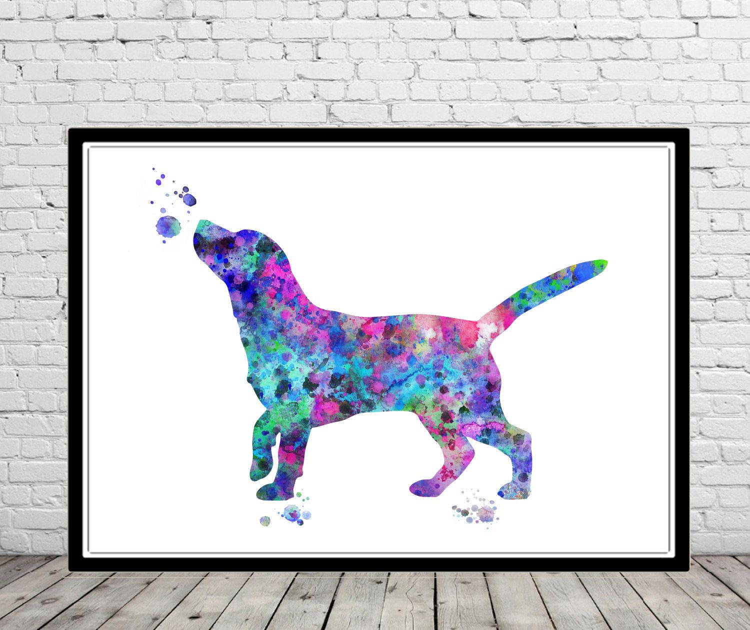 Beagle Beagle Dog Watercolor Beagle Watercolor Print Dog Print